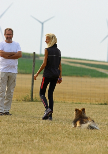 July 2018: Obedience seminar with Uwe Wehner, Framersheim