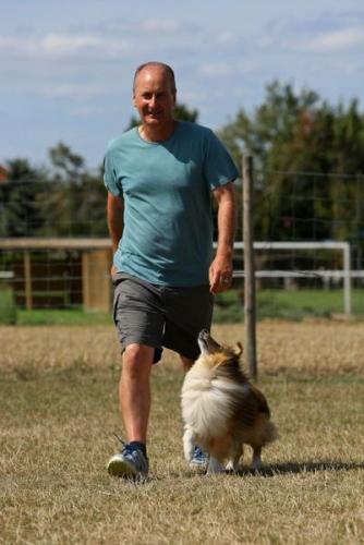 Framersheim, August 2015, Training with Neil Short